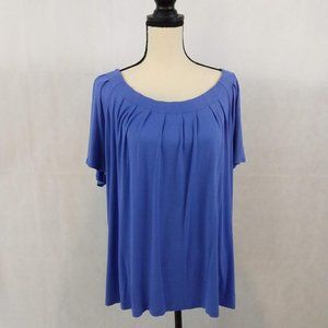 George Top - Size XXL - Periwinkle Blue